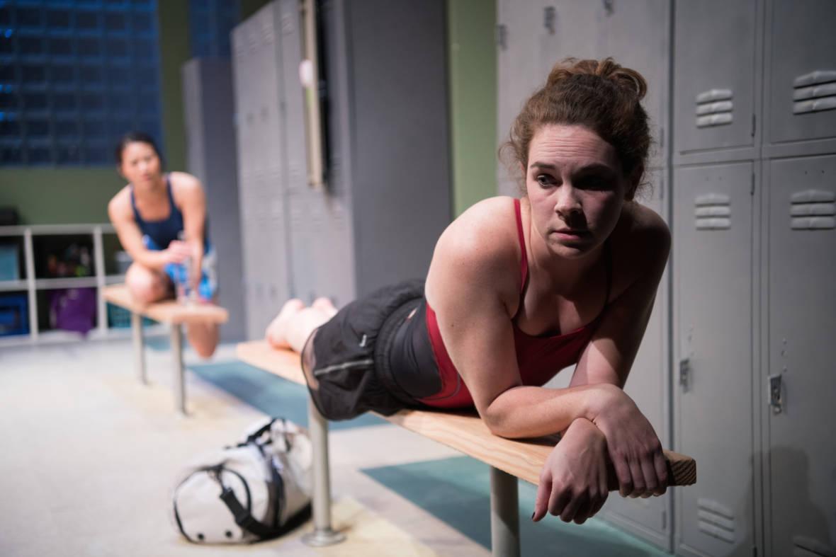 Amy (Martha Brigham) contemplates her future in 'Dry Land.' Ben Krantz Studio