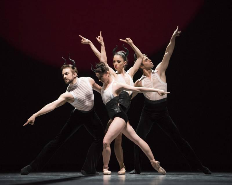Lopez Ochoa's 'Guernica,' at SF Ballet's 'Unbound' festival. (© Erik Tomasson)