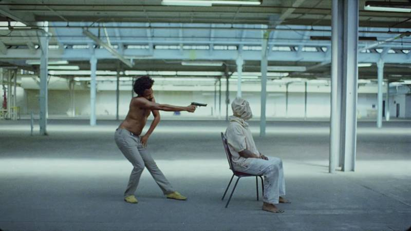 A still from Childish Gambino's 'This Is America.'