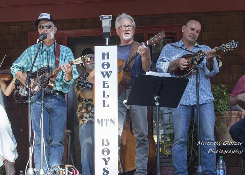 The Howell Mountain Boys perform at Napa's Porchfest.