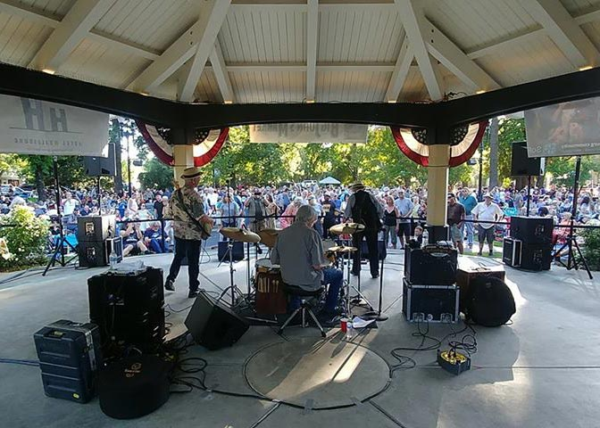Roy Rogers and his band kick off the 2018 season for Tuesdays in the Plaza.