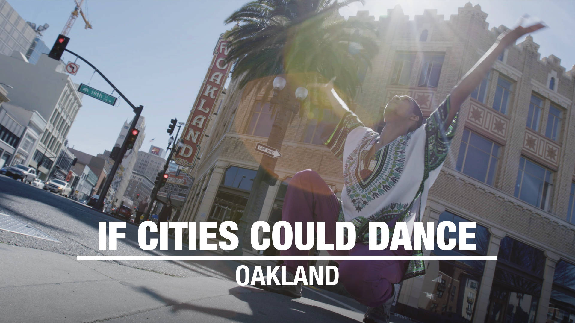 Frankie Lee Peterson III Offers a Praise Dance for the Town