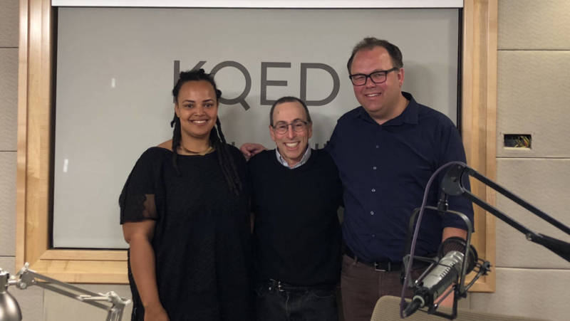 Stanford's A-lan Holt and KQED's Gabe Meline join Cy Musiker for his final episode as host of The Do List.