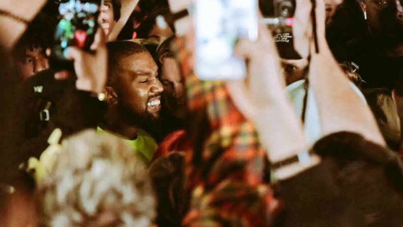Kanye West premieres his new album 'YE' at a listening party in Jackson Hole, Wyoming.