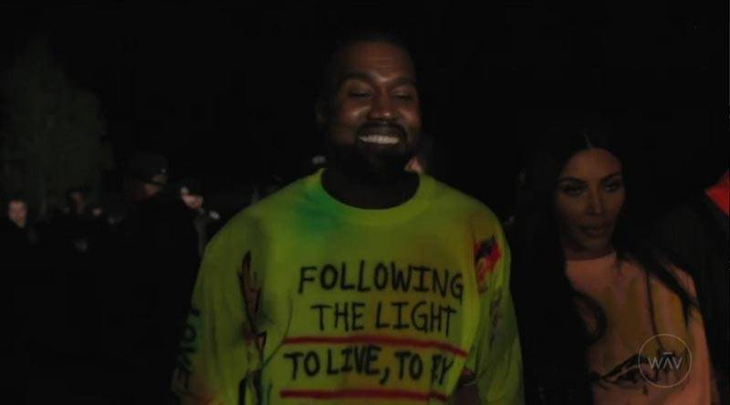 Kanye West, with wife Kim Kardashian West, premieres his new album 'YE' at a listening party in Jackson Hole, Wyoming.