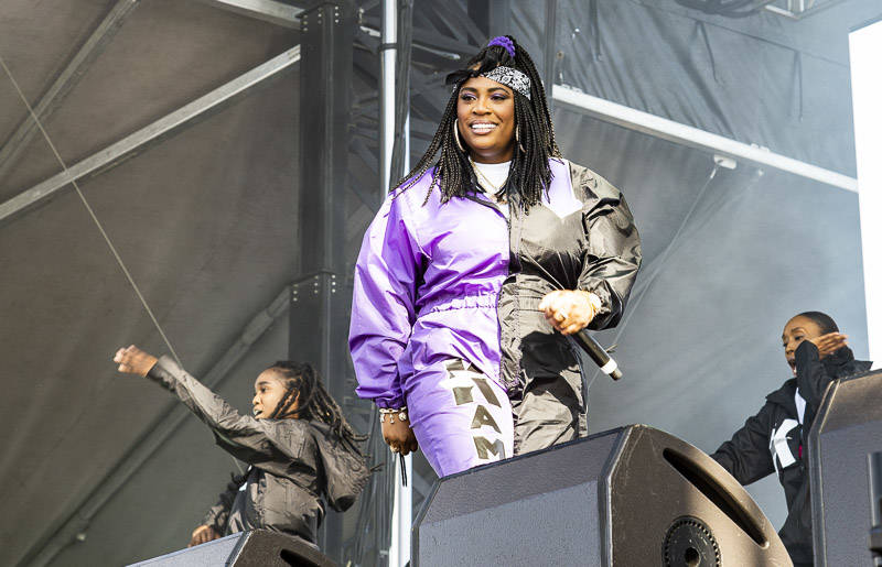 Kamaiyah plays Blurry Vision Festival in Oakland on May 13.