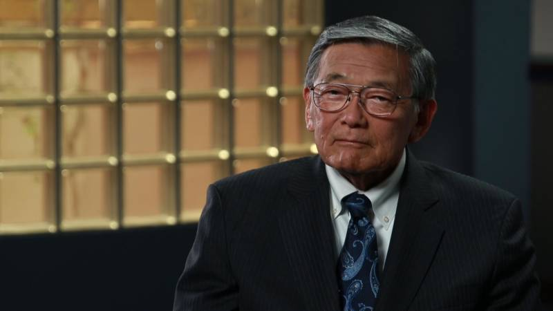 Norman Mineta, the subject of Dianne Fukami's documentary 'An American Story: Norman Mineta and His Legacy.'