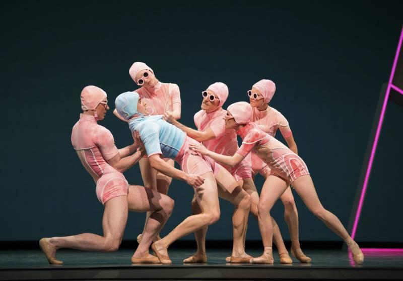 Myles Thatcher's 'Otherness,' at SF Ballet's 'Unbound' festival. (© Erik Tomasson)