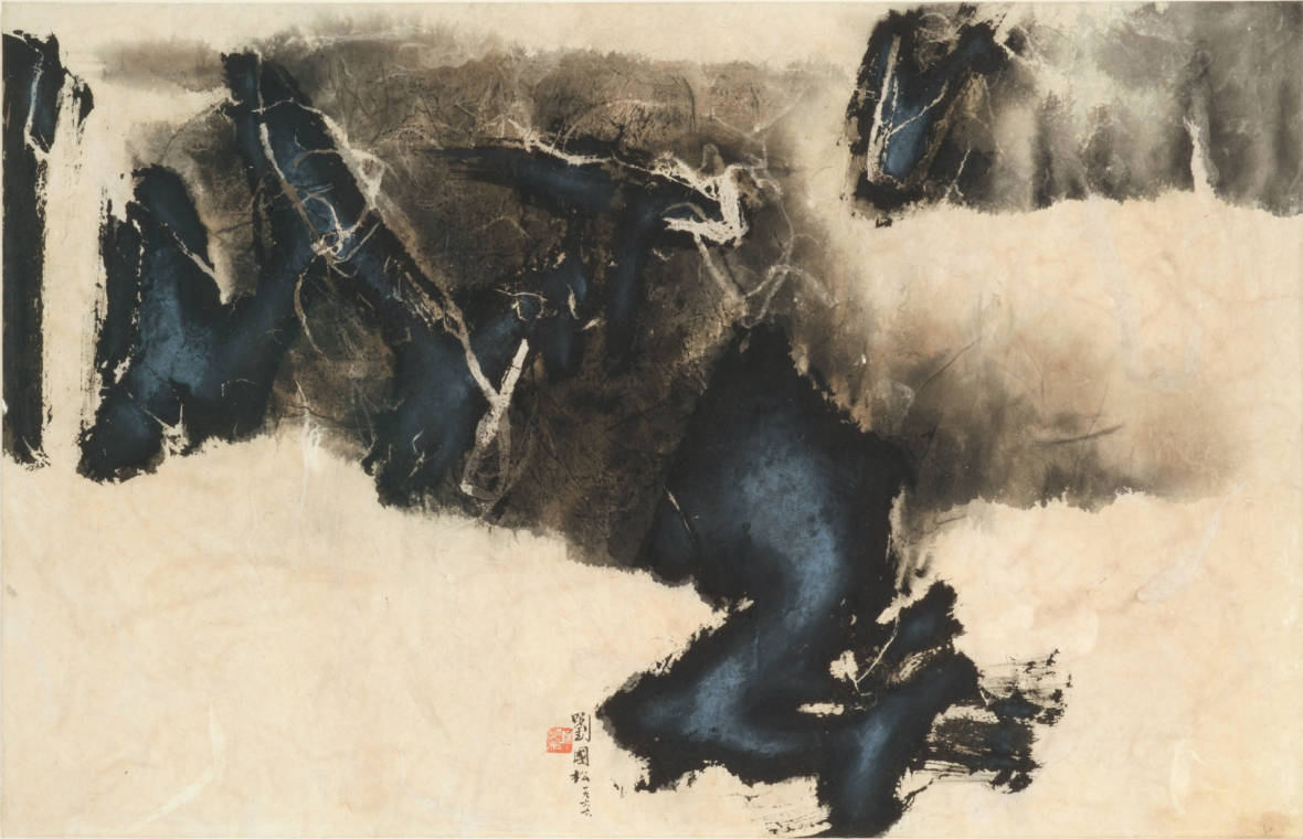 Energy in the Brush: Contemporary Chinese Ink Paintings at Cantor