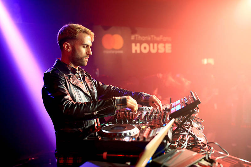 A-Trak performs on February 11, 2017 in Los Angeles, California.
