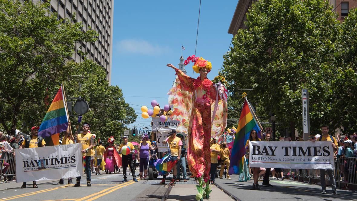 SF Bay Times, City's First Newspaper Produced Jointly by Gay Men and Women, Celebrates 40th Anniversary