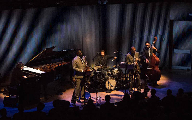 Brian Blade and the Fellowship perform at SFJAZZ in 2016.