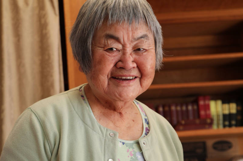 Flora Ninomiya was taken to a Japanese-American internment camp at age 7.