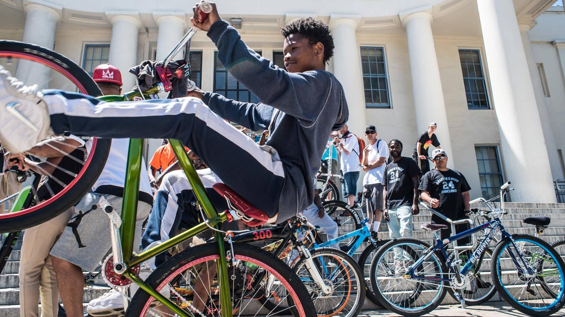 Marshawn Lynch's second 'Oakland Ride Out,' June 24, 2018. Martina Patella
