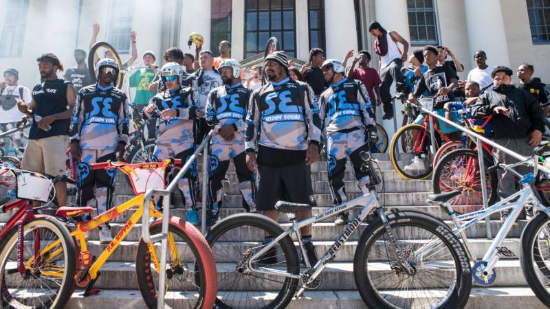 Marshawn Lynch's second 'Oakland Ride Out,' June 24, 2018.