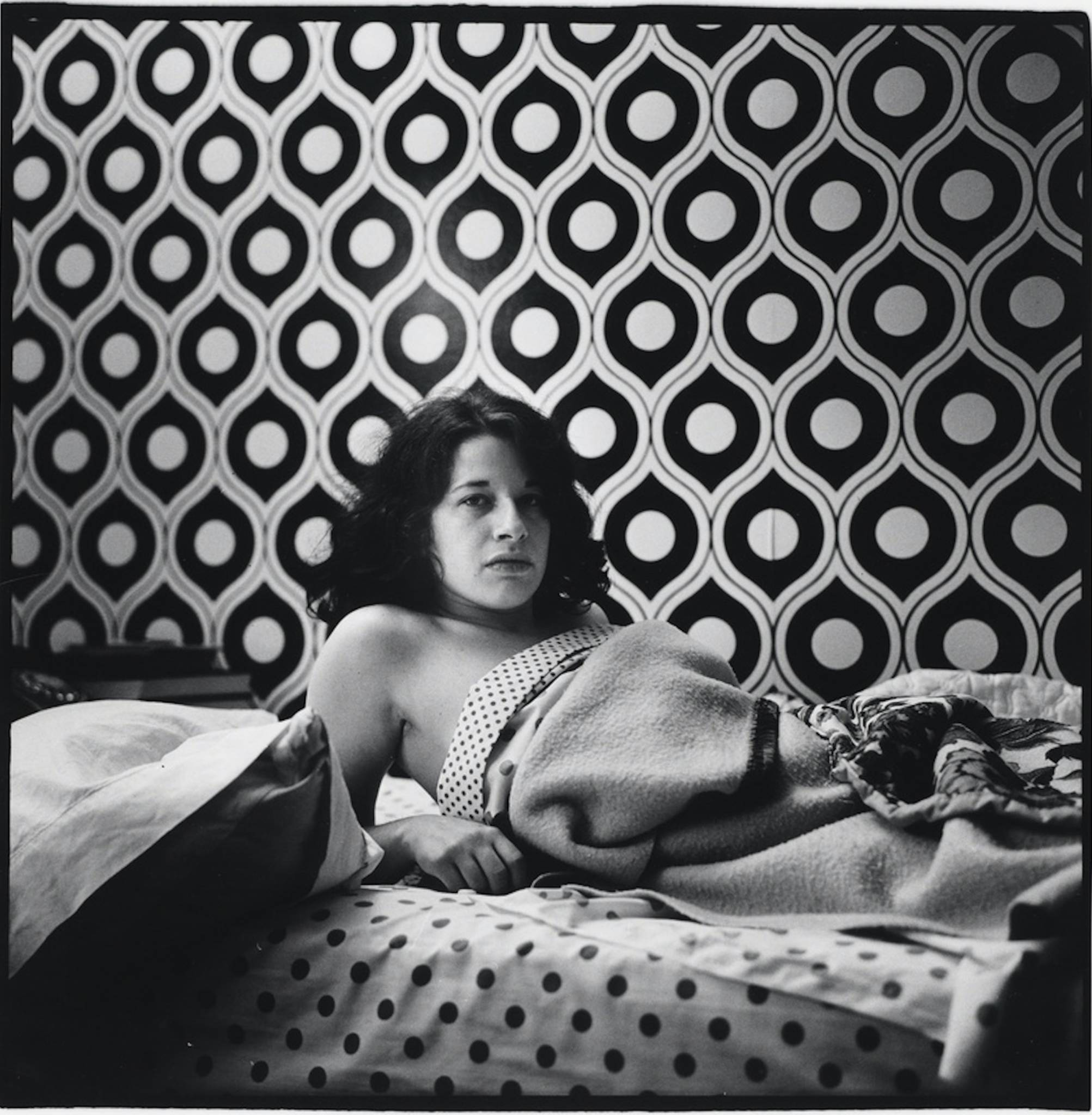 Peter Hujar, 'Fran Lebowitz at Home in Morristown, New Jersey,' 1974.