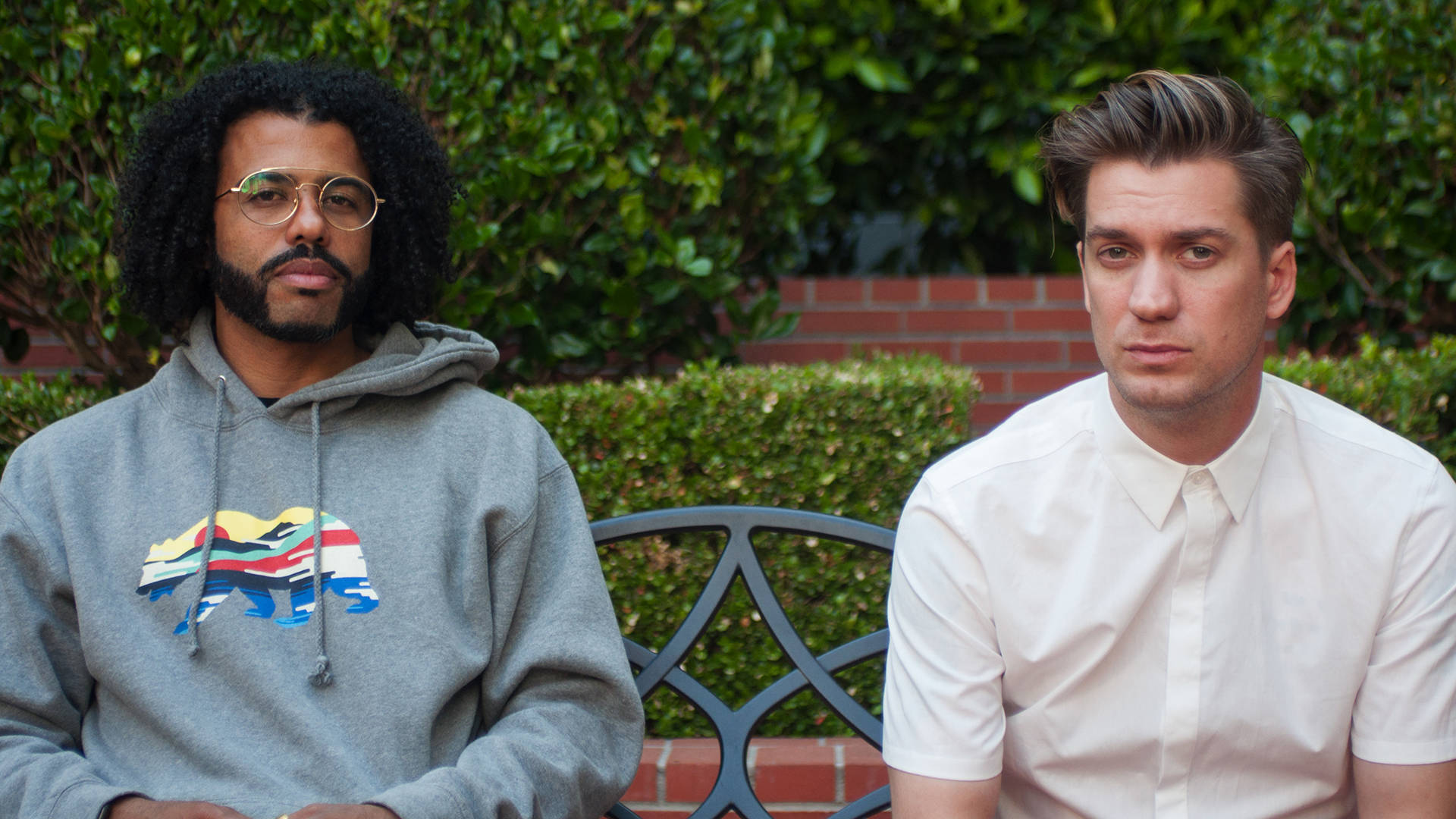 Daveed Diggs (left) and Rafael Casal co-wrote and co-star in 'Blindspotting.' Drew Costley