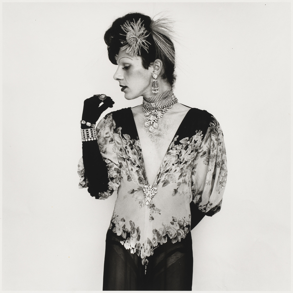 Peter Hujar, 'Cockette John Rothermel in a Fashion Pose,' 1971.