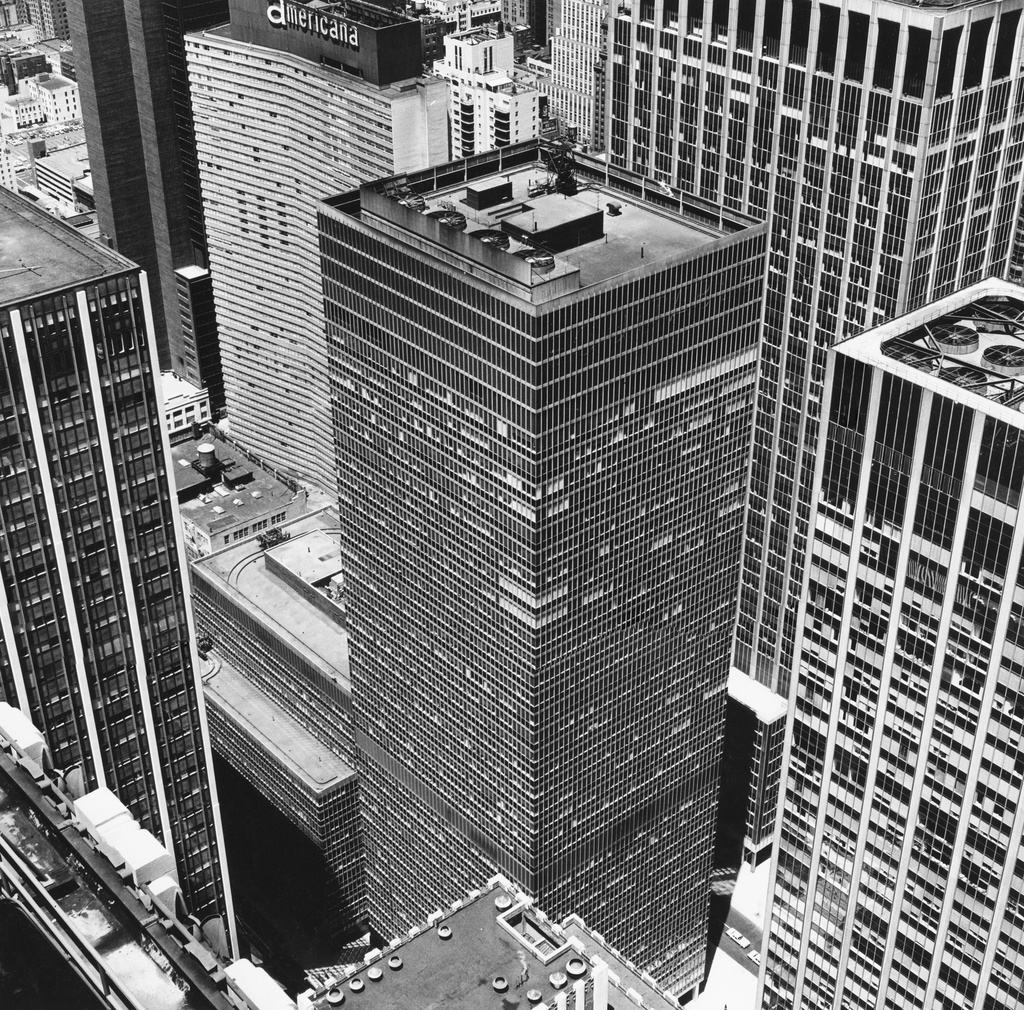Peter Hujar, 'From Rockefeller Center: The Equitable Building,' 1976.