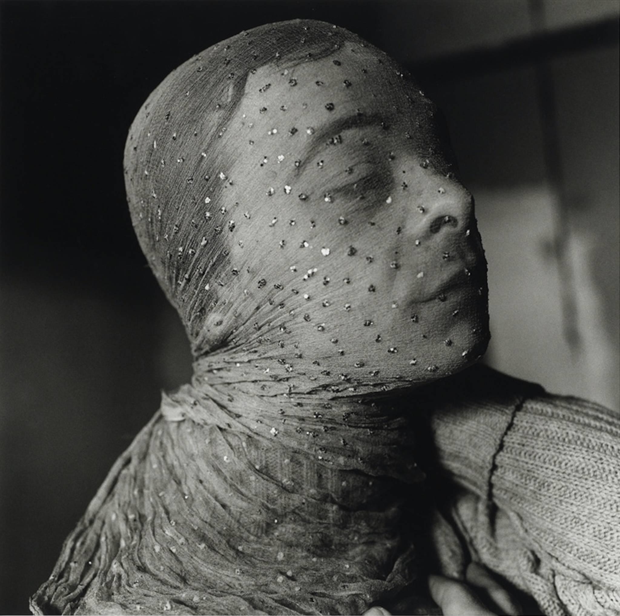 Peter Hujar, 'Gary Indiana Veiled,' 1981.