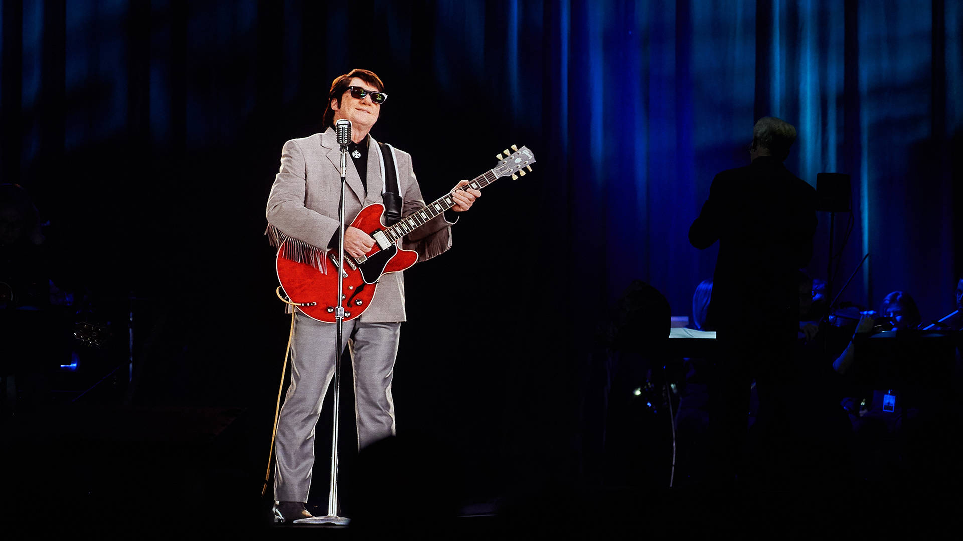 Roy Orbison in Concert during The Hologram UK Tour at Eventim Apollo on April 19, 2018 in London, England.  Tabatha Fireman/Getty Images for BASE Holograms