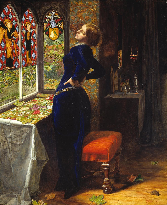 John Everett Millais, 'Mariana,' 1851.