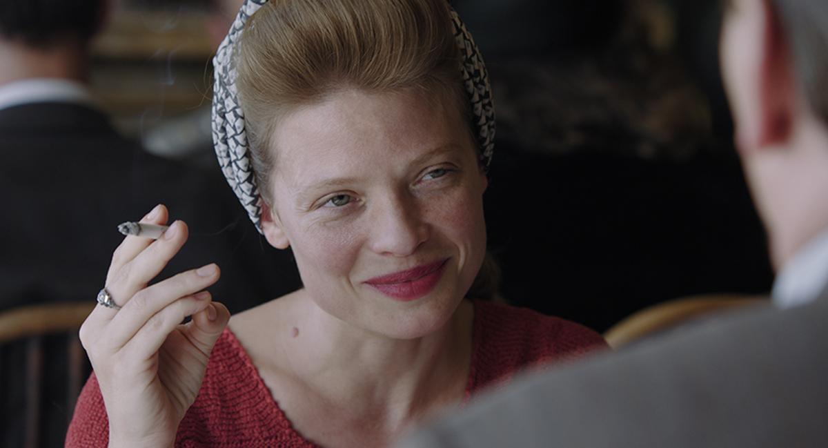 Mélanie Thierry as Marguerite Duras in 'Memoir of War.'