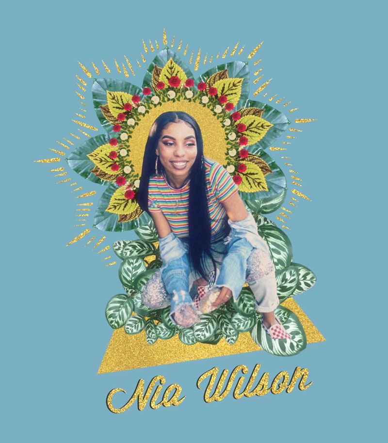 'Nia Wilson' by Ruben Guadalupe Marquez (@broobs.psd)