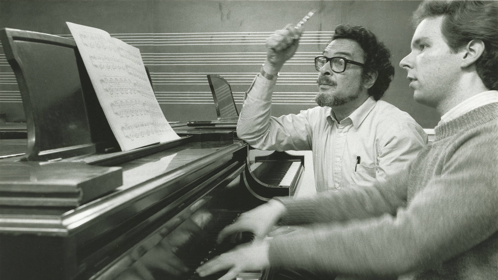 Leon Fleisher has been a faculty member of the Peabody Institute at Johns Hopkins University since 1959. Courtesy of Johns Hopkins University