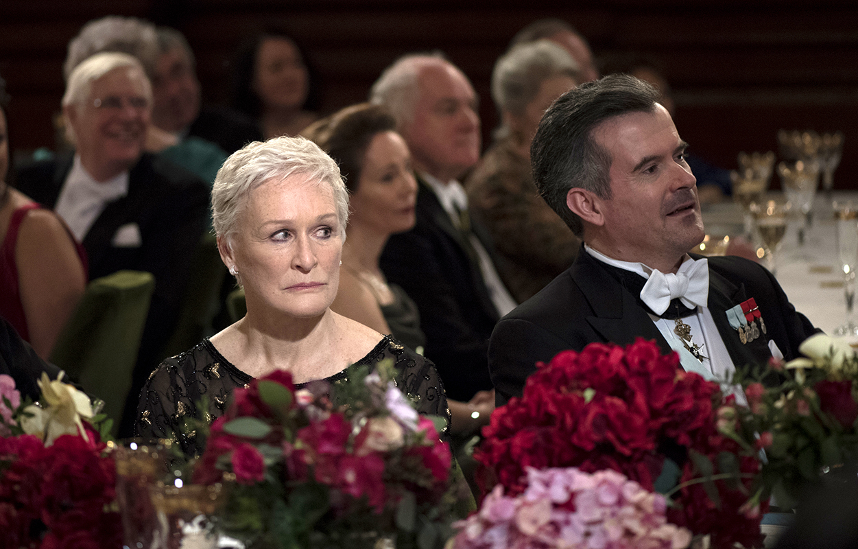 Glenn Close as Joan Castleman in 'The Wife.'