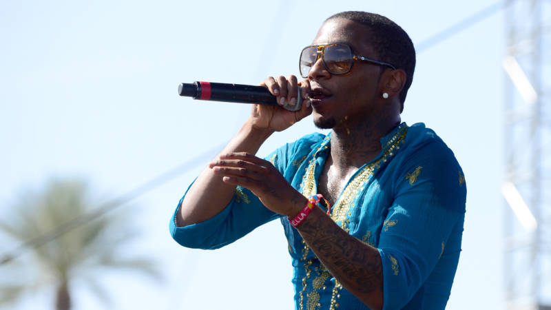 Lil B performs at the 2015 Coachella Valley Music & Arts Festival.