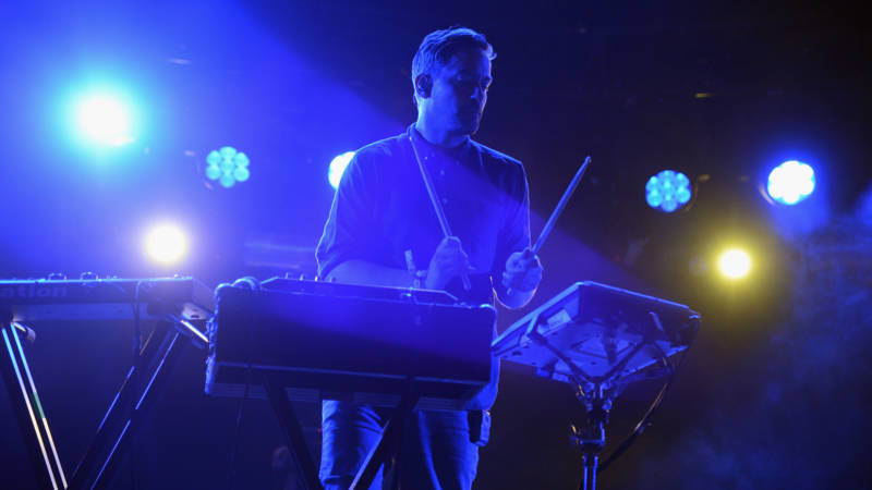 Bonobo at the 2014 Coachella Valley Music & Arts Festival.