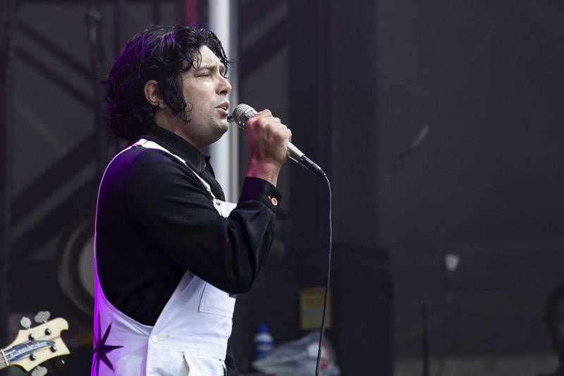 The Growlers perform at the at Outside Lands music festival in San Francisco, Aug. 10, 2018.
