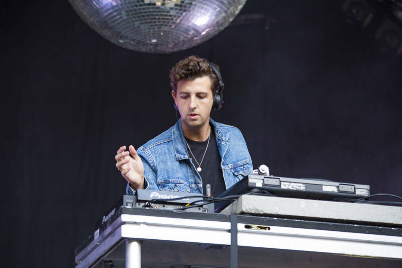Jamie xx performs at the at Outside Lands music festival in San Francisco, Aug. 11, 2018.