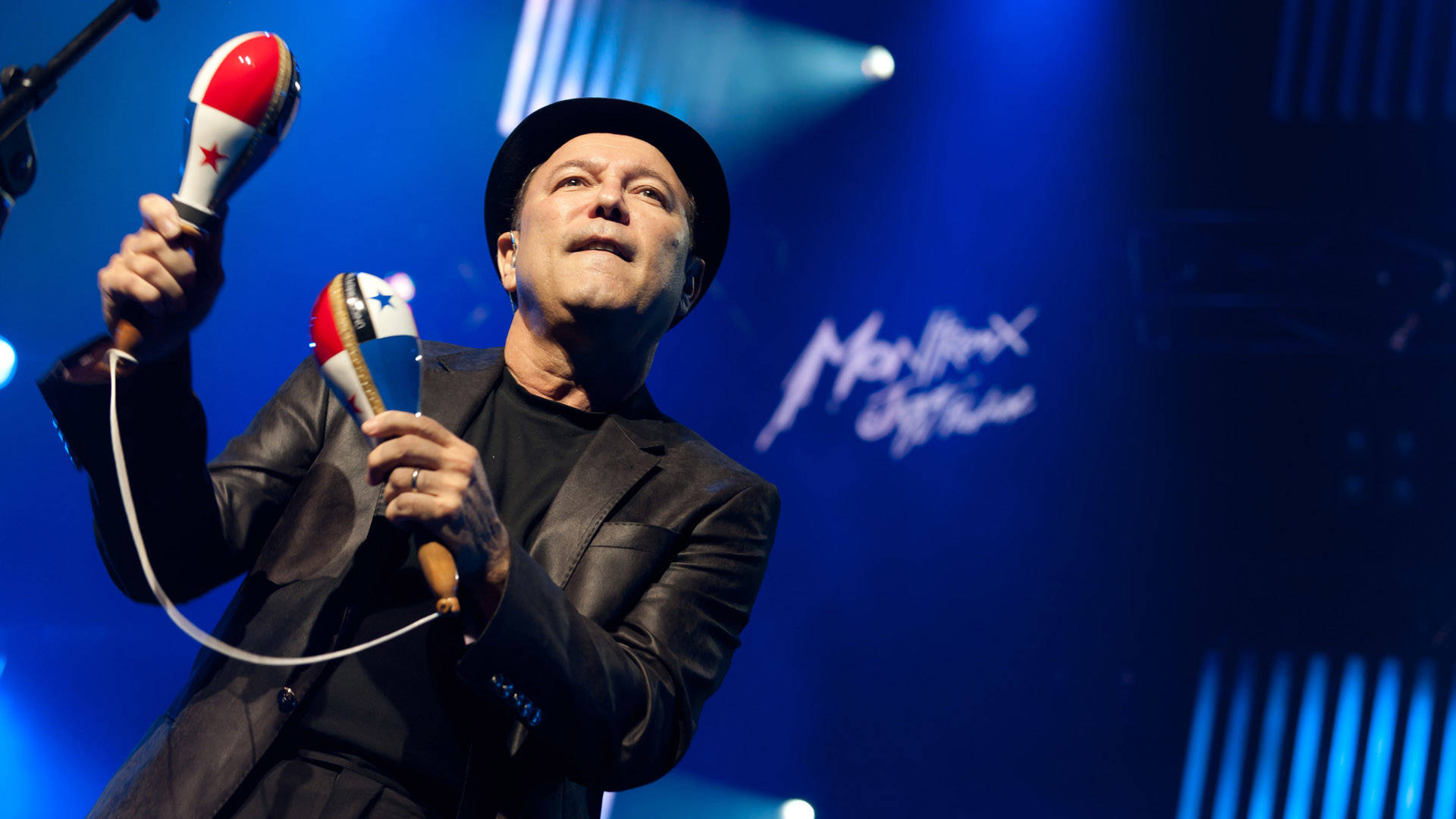 Rubén Blades performing at the Montreux Jazz Festival, from 'Yo No Me Llamo Rubén Blades.' Courtesy of Cine+Mas SF