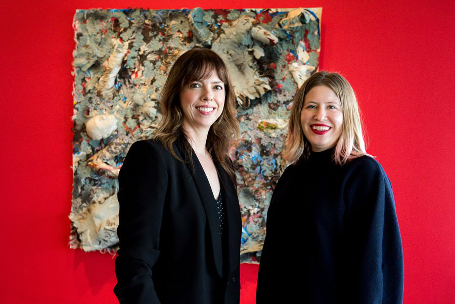 di Rosa curator Amy Owen and former assistant curator Kara Q. Smith.