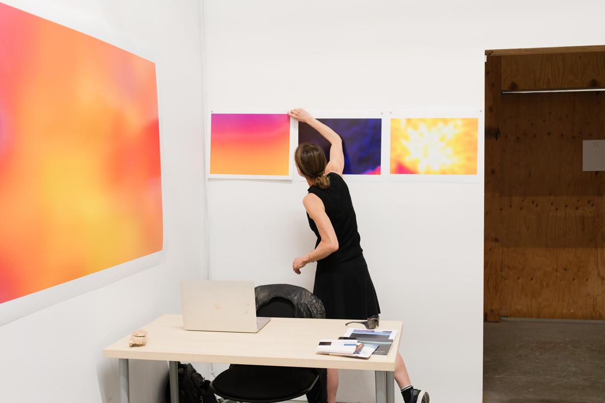Blatt in her San Francisco studio.