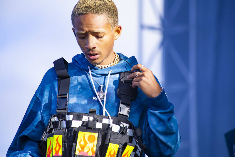 Jaden Smith plays Rolling Loud Bay Area in Oakland on Saturday, September 15, 2018.