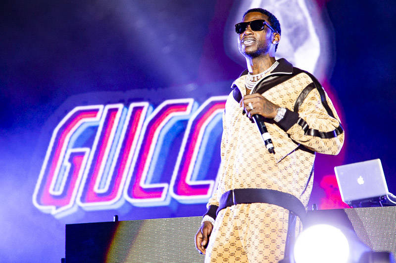 Gucci Mane plays Rolling Loud Bay Area in Oakland on Saturday, September 15, 2018.