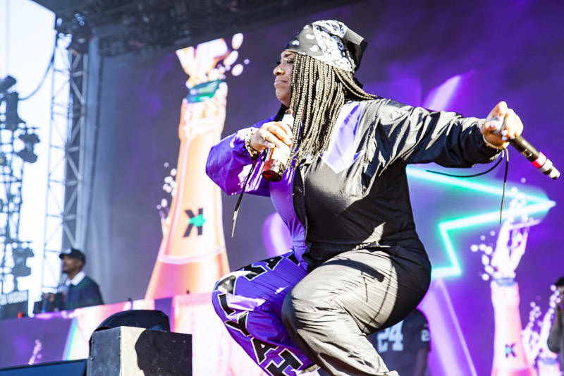 Kamaiyah plays Rolling Loud Bay Area in Oakland on Sunday, September 16, 2018.