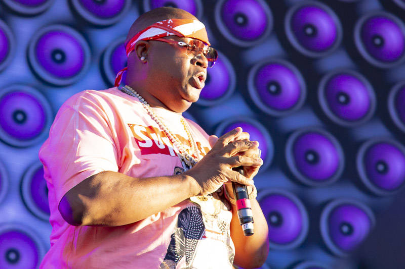 E-40 plays Rolling Loud Bay Area on Sunday, September 16, 2018.