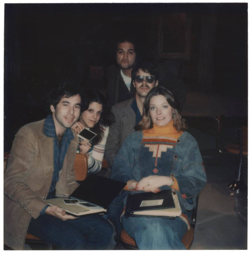 Tom Schiller, Gilda Radner, John Belushi, Dan Akroyd and Jane Curtin in 'Love, Gilda.'