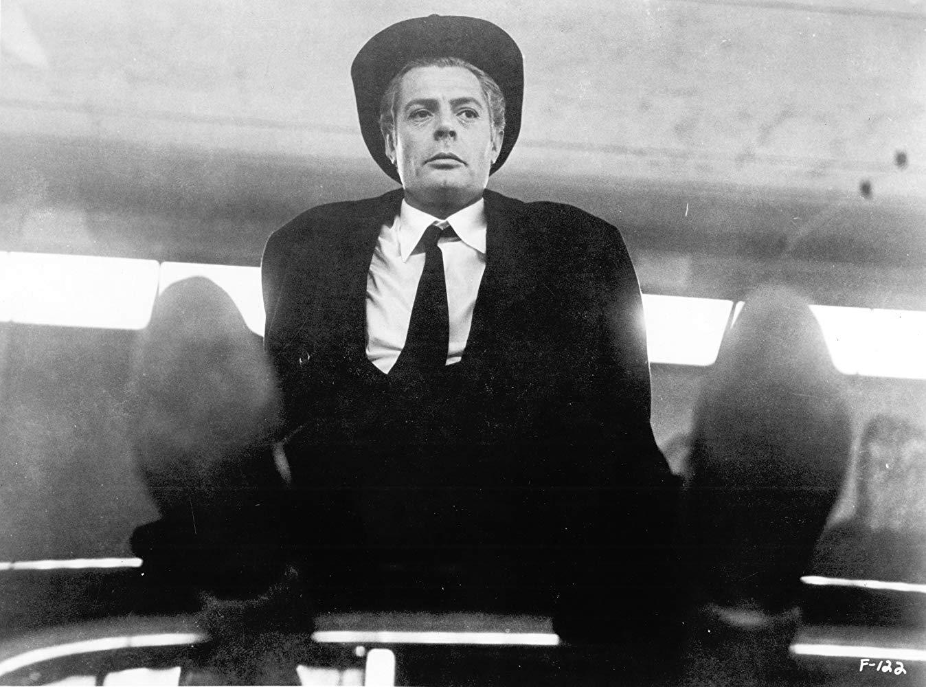 Marcello Mastroianni in Federico Fellini's '8½,' 1963.