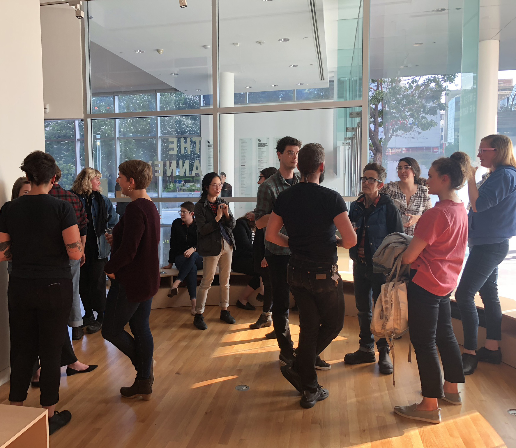 The first W*AH Mixer at YBCA on May 30, 2018.