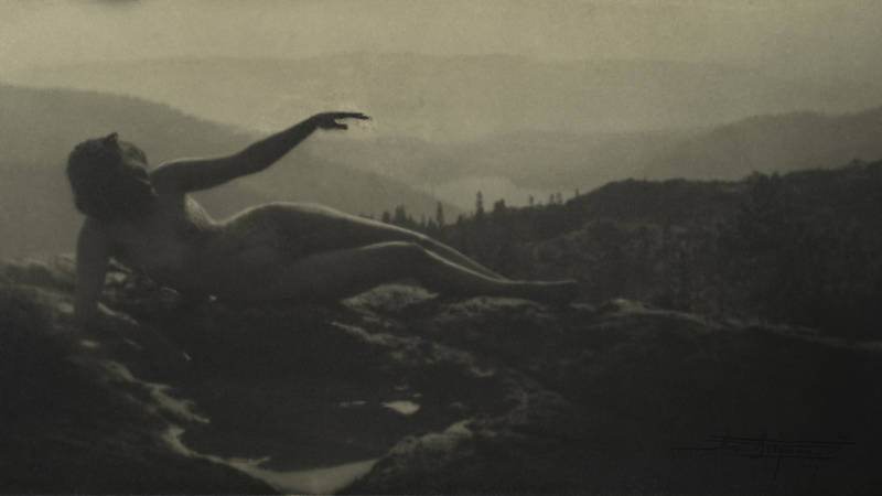 A Century Ago, She Photographed Herself in Nature, Naked and Unafraid