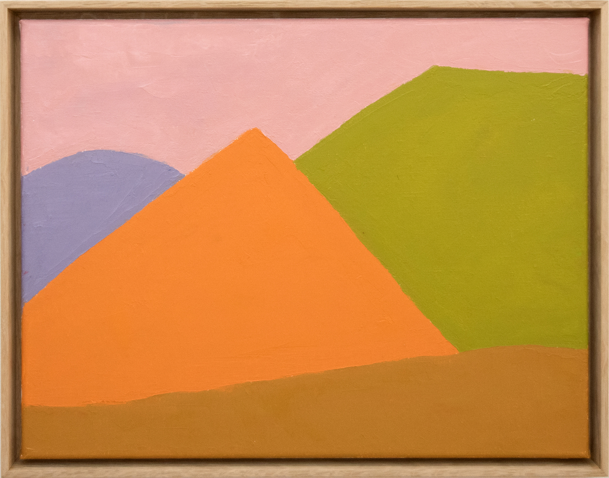 Etel Adnan, 'Untitled,' 2018.