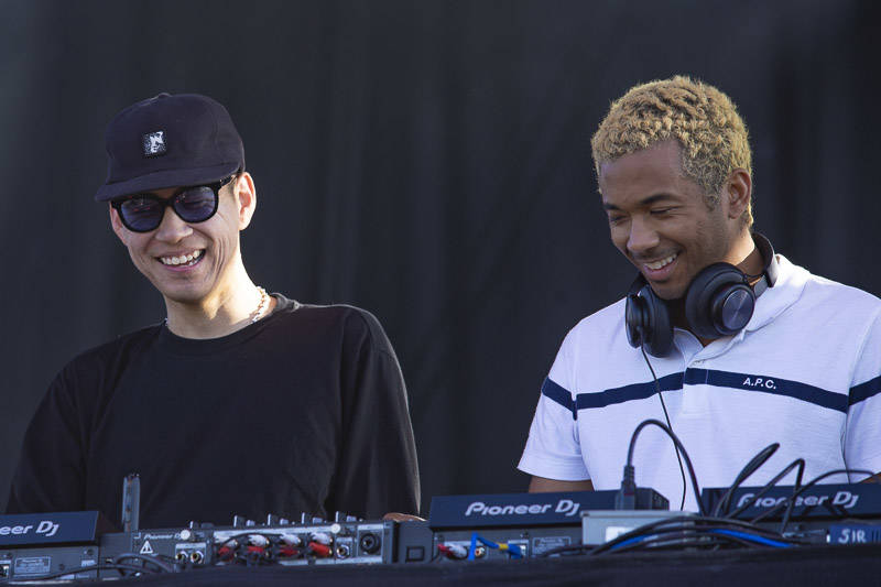 Laff Trax perform at Treasure Island Music Festival on Oct. 13, 2018.