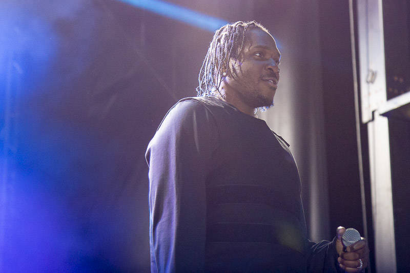 Pusha T performs at Treasure Island Music Festival on Oct. 13, 2018.