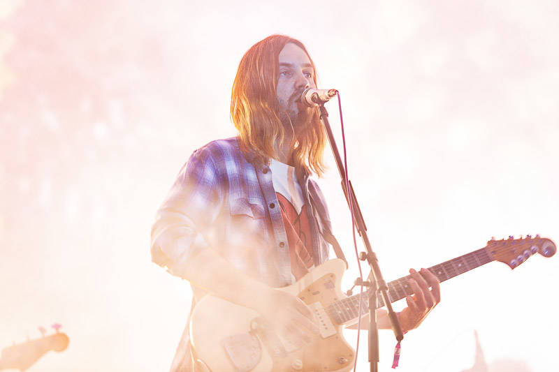 Tame Impala perform at Treasure Island Music Festival on Oct. 14, 2018.