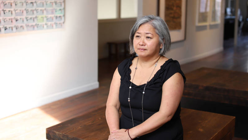 "Lonnie Lee, director and curator at Vessel Gallery. Lee's landlord declined to renew the Oakland gallery's lease, citing a desire to take the building in a ""different direction."""